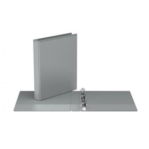 "Davis Group Easyview Premium Customizable Binder, 1"" Round Ring, Grey"