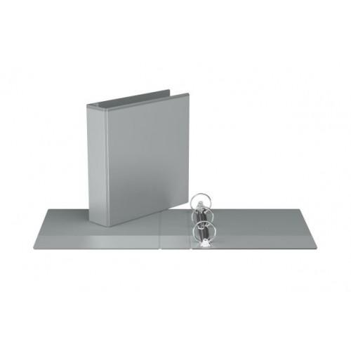 "Davis Group Easyview Premium Customizable Binder, 2"" Round Ring, Grey"