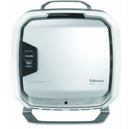 Fellowes AeraMax Pro PureView AM 3S PC Air Purifier - Stainless - with Stand