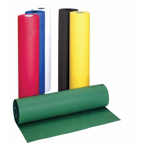 """MURAL OR POSTER PAPER ROLL RED, 36""""X60'"""