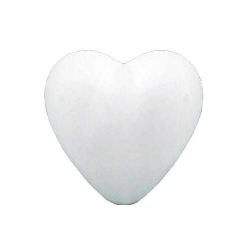 STYROFOAM HEART SHAPE 85 MM X 80MM , 50 PACK