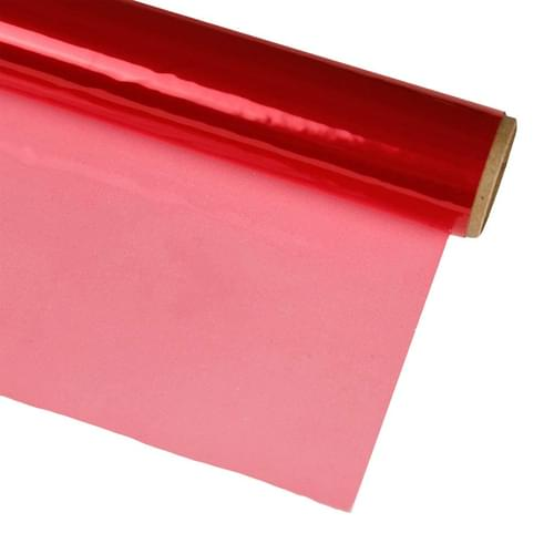 """CELLOPHANE ROLLS 20"""" X 25', RED"""