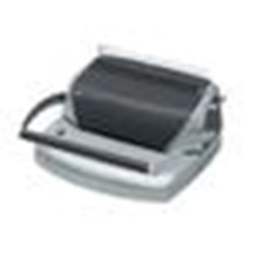 "GBC COMBBIND C110 BINDING SYSTEM - 300 Sheet(s) Bind - 15 Punch - 8.5"" x 17.5"" x 14.5"" - Charcoal"