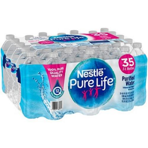 Nestle Pure Life Natural Spring Water - 35 Bottles Per Case