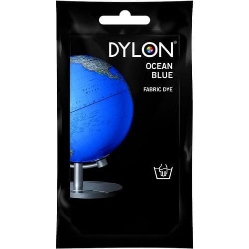 DYLON PERMANENT FABRIC DYE, OCEAN BLUE