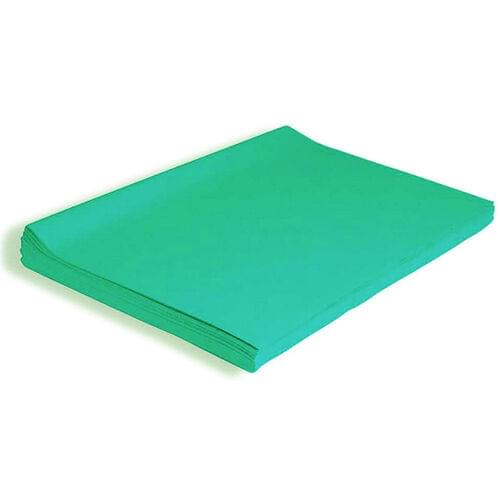 """TURQUOISE TISSUE PAPER 20"""" x 30"""", 24 SHEETS"""