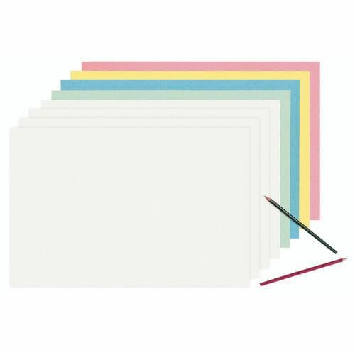 "WHITE NEWSPRINT PAPER 480 SHEETS, 9"" X 12"""