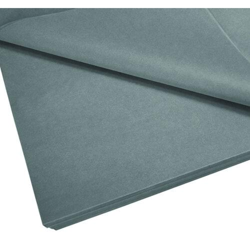 """GREY TISSUE PAPER 20"""" x 30"""", 24 SHEETS"""
