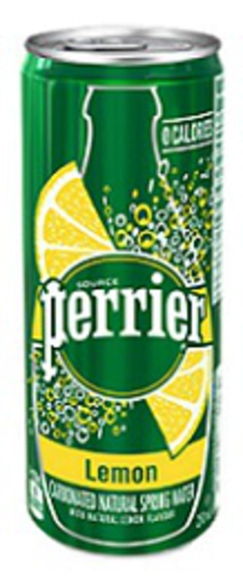 Water, Lemon, Perrier Slim Can, 10x250ml