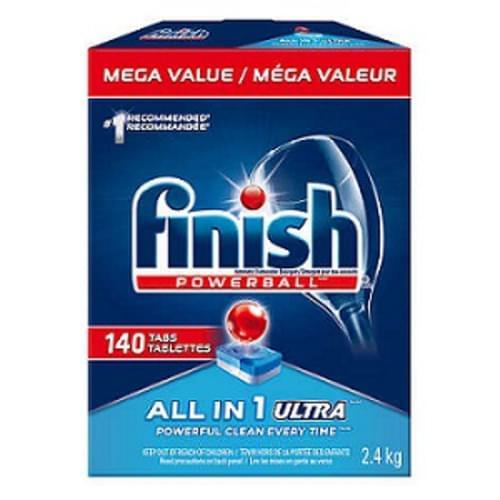 Finish Powerball 140-count Dishwashing Detergent