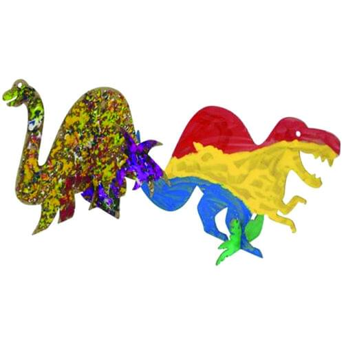 COLLAGE-A-SAURUS, 25 PACK