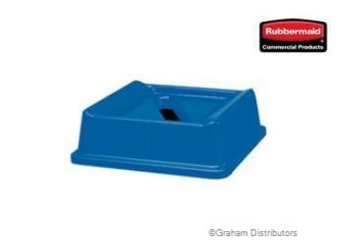 Wastebasket lid, Square Untouchable Lid with Paper Recycling Top
