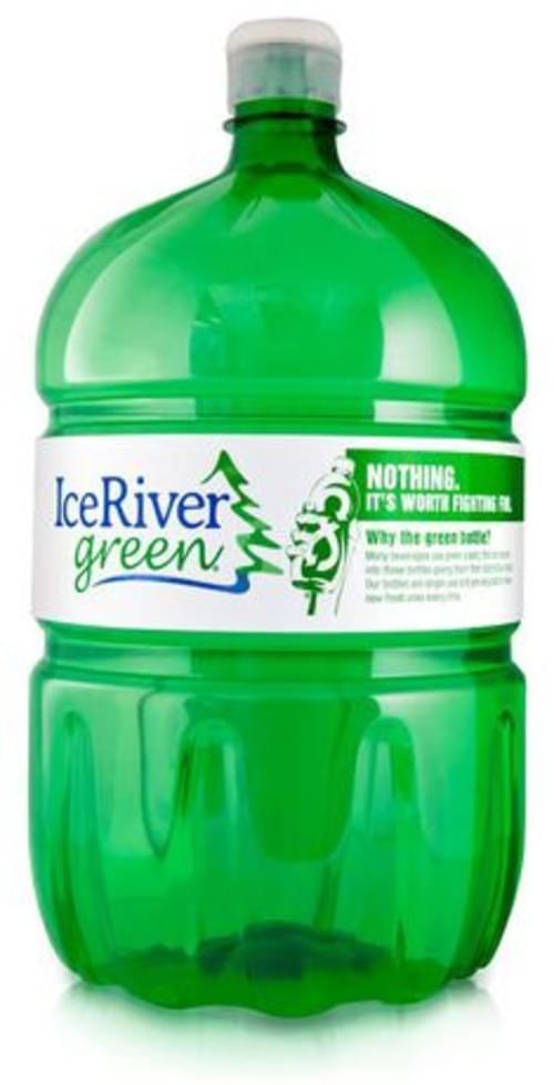 Ice River Green Natural Spring Water. 4 L., 4/pk