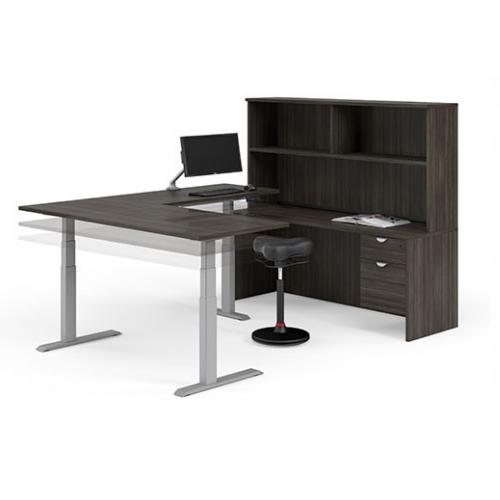 Innovation Executive Height Adjustable Workstation
