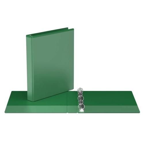 "Davis Group Easyview Premium Customizable Binder, 1"" Round Ring, Green"