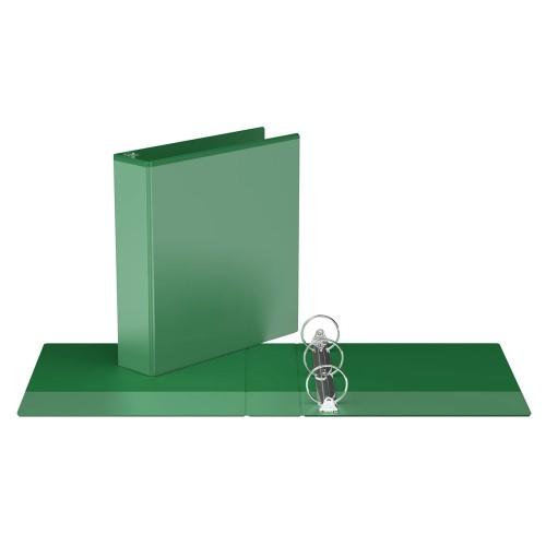 "Davis Group Easyview Premium Customizable Binder, 2"" Round Ring, Green"