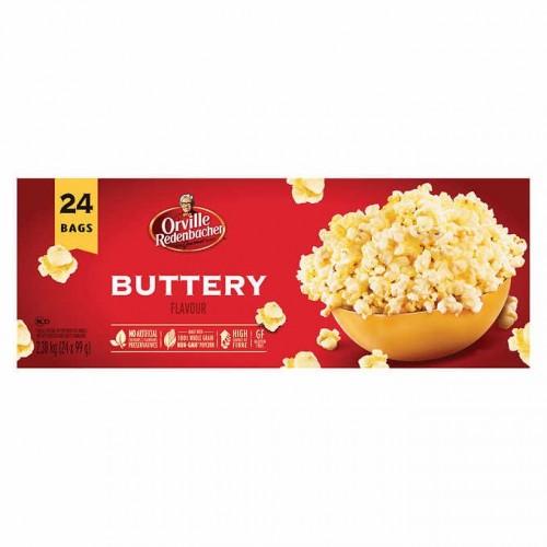 Orville Redenbacher's Gourmet Microwave Popcorn Buttery Flavour 24 bags x 99 g