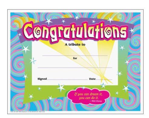 Awards Certificates Diplomas & Crowns