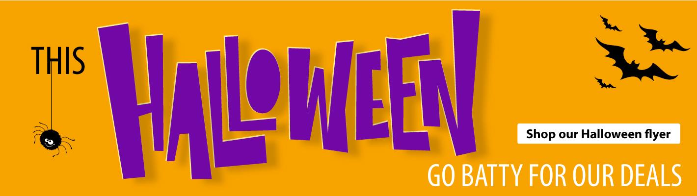 Halloween Specials and Deals