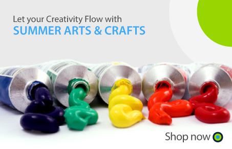 Office Central Summer Arts  crafts Banner