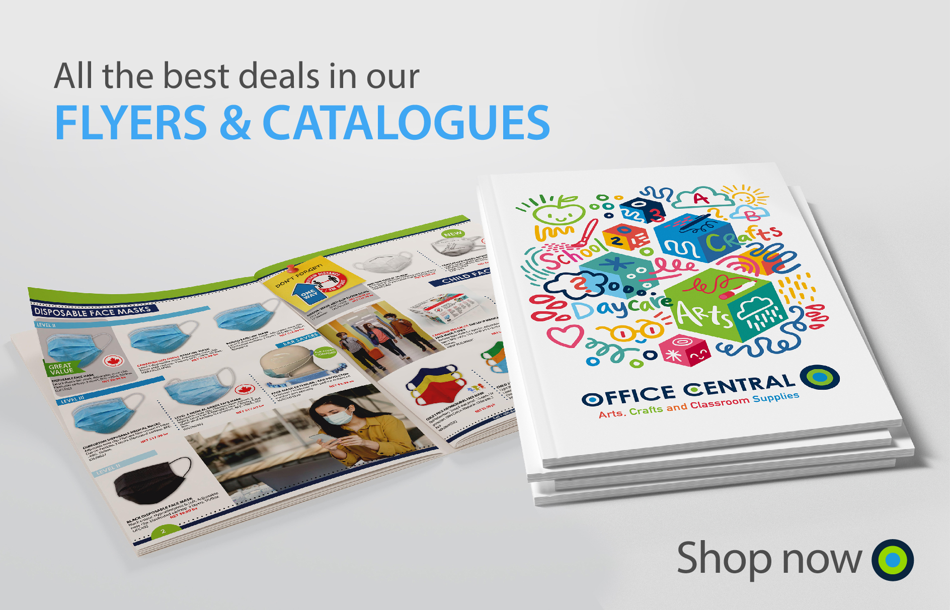 Office Central Flyers & Catalogues Banner