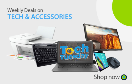 Office Central Technology and Accessories Weekly Deals Banner