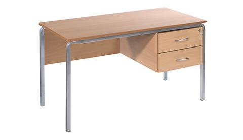 School Classroom and Staff Desks
